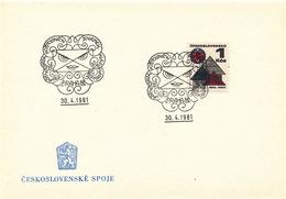 L3267 - Czechoslovakia (1981) Praha 81: Regional Stamp Exhibition Young Philatelists