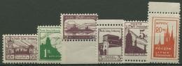 Mittellitauen 1921 Portomarken P 1/6 A Postfrisch Gezähnt