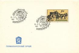 L3268 - Czechoslovakia (1981) Svitavy 1: Regional Stamp Exhibition Young Philatelists