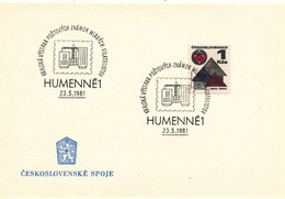 L3269 - Czechoslovakia (1981) Humenne 1: Regional Stamp Exhibition Young Philatelists