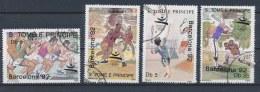Sao Tomé E Principe 1989 Mi: 1123-1126 (Gebr/used/obl/o)(1427) - Sao Tome En Principe