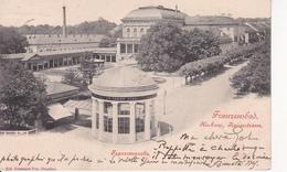 AK Franzensbad - Kurhaus Kaiserstrasse Franzensquelle - 1901 (27655) - Tschechische Republik
