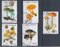 Sao Tomé E Principe 1990 Mi: 1184-1188 (Gebr/used/obl/o)(1432) - Sao Tome En Principe