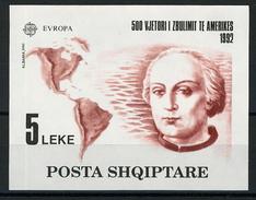 1992 - ALBANIA - Catg. Mi. Block 97 - NH - (BA - IBE6630)