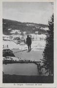 ST.CERGUE → Concours De Saut, Schanzensprung Anno 1925 - VD Waadt