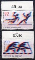1860 -  ALLEMAGNE FEDERALE  N° 848/849** Pour Le Sport : Handball , Canoé     SUPERBE