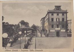 ALBANO  LAZIALE (ROMA) - F/G B/N    (210714) - Italia