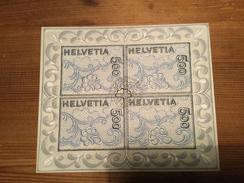 Schweiz, Helvetia, Switzerland, Suisse, Svizzera 2000, Mi. 1726, ESST, Ausgabetag Embroidery Stickerei Block NABA