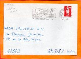 GARD, St Paulet De Caisson, Flamme SCOTEM N° 13010, - Marcophilie (Lettres)