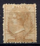 Malta 1863 Unif. 2 */MH F