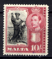 Malta 1938 Unif. 192 */MLH VF