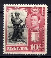 Malta 1938 Unif. 192 */MLH VF - Malta