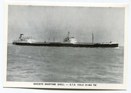 """Post Card Ship-owner Shell - Oil Tanker """"S.T.S. Vola"""" - Tankers"""