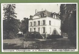 (ma) Carte Photo Vue Rare - HAUTS DE SEINE - RUEIL MALMAISON - CLINIQUE CHIRURGICALE DE  LA JONCHÈRE - - Rueil Malmaison
