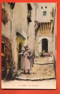 IAQ-28  Alger, Une Rue Arabe. ANIME. Non Circulé - Alger