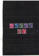 GROSSBRITANNIEN , Great Britain , Wales Und Monmouthshire , Used , Gestempelt , Mi.Nr. 13 - 19