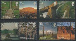 GROSSBRITANNIEN GRANDE BRETAGNE GB 2005 With Australia Heritage Set Of 8 SG 2532-39 SC 2280-87 MI 2300-07 YV 2646-53