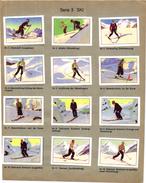 1 Page Serie Instruction Ski - Winter Sports
