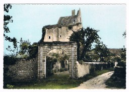 BETZ Le CHATEAU  37  L' Entrée Du Chateau En 1969 - France
