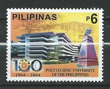 Philippines 2004 The 100th Anniversary Of Polytechnic University, Manila.MNH - Philippines