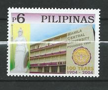 Philippines 2004 The 100th Anniversary Of Manila University.MNH - Filippijnen
