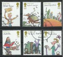 GROSSBRITANNIEN GRANDE BRETAGNE GB 2012 Roald Dahl Set Of 6v SG 3254-59 SC 2983-88 MI 3184-89 YV 3578-83