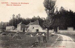 CPA - 71 LE POIL - Hameau De Montagny Rue De Charodon