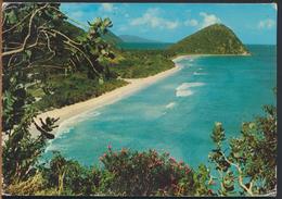 °°° 1138 - BRITISH VIRGIN ISLANDS - TORTOLA - LONG BAY - 1976 With Stamp °°° - Vierges (Iles), Britann.