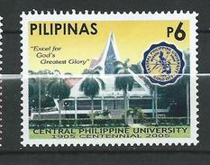 Philippines 2005 The 100th Anniversary Of The Central Phillipine University.MNH - Philippines