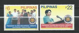 Philippines 2005 President Gloria Macapagal Arroyo.MNH - Philippines