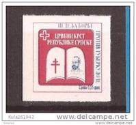 1997  1  ROT KREUZ  ROBERT KOCH   BOSNIA  REPUBLIKA SRPSKA    AUTOADHESIV GEGEN TUBERKULOSE   MNH