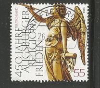 35z * BUNDESREPUBLIK 2488 * AUGSBURGER RELIGIONS FRIEDEN * GESTEMPELT *!!