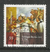 38z * BUNDESREPUBLIK 2401 * BONIFATIUS * GESTEMPELT *!!