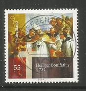 39z * BUNDESREPUBLIK 2401 * BONIFATIUS * GESTEMPELT *!!