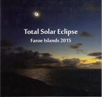 Faroe Islands MNH 2015 Presentation Pack Total Solar Eclipse