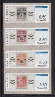 Faroe Islands MNH 2015 Set Of 4 8.50kr Vending Machine Stamps
