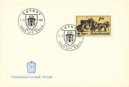 L3296 - Czechoslovakia (1981) Chynov: 1000 Years City 981-1981 (coat Of Arms)