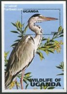 Uganda 1996 Wild Animals S/s, (Mint NH), Nature - Animals (others & Mixed) - Birds