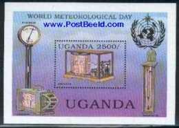 Uganda 1994 World Meteorology Day S/s, (Mint NH), Science - Meteorology - Weights & Measures