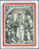 Uganda 1993 Christmas S/s, Durer, (Mint NH), Art - Paintings - Dürer - Albrecht - Religion - Christmas