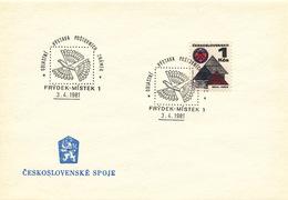 L3304 - Czechoslovakia (1981) Frydek-Mistek 1: Regional Stamp Exhibition (folk Toy)