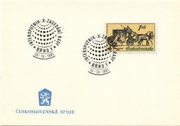 L3308 - Czechoslovakia (1981) Brno 1: INTERSPUTNIK - X. Council Meeting