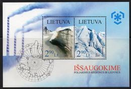 Lithuania. Lituania. Litauen. 2009.  Preserve The Polar Regions And Glaciers. MNH**