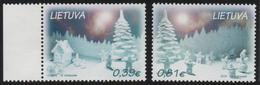 Lithuania. Lituania. Litauen. 2015.  Christmas And New Year.  MNH**