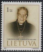 Lithuania. Lituania. Litauen. 2003.  Cardinal V.Sladkevichius.  MNH**