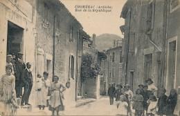 G59 - 07 - CHOMÉRAC - Ardèche - Rue De La République - Frankreich