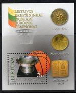 Lithuania. Lituania. Litauen. 2003.  The Champion Of Europe On Basketball. MNH** - Lithuania