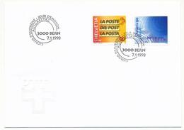 SUISSE -  FDC 1998 - Swisscom - PTT - Berne