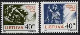 Lithuania. Lituania. Litauen. 1996. Day Of Mourning And Hope. MNH**