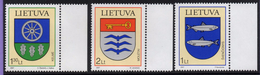 Lithuania. Lituania. Litauen. 2007. Coats Of Arms. MNH**